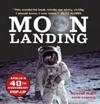 The cover of Moon Landing
