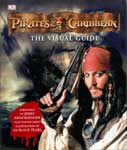 The cover of Pirates of the Caribbean, the Visual Guide