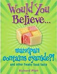 The cover of would you believe ... marzipan contains Cyanide